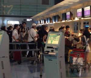 空港内混雑