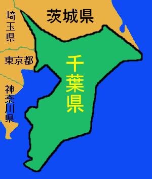 千葉県-地図