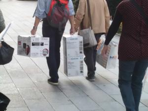 爆買い-中国人
