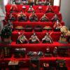 ひな祭りの雛人形の飾り方(7段5段3段)