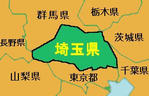 埼玉県・地図