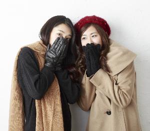 女性-寒い