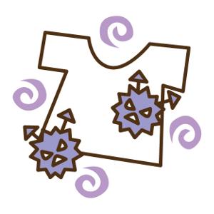 洗濯物-Tシャツ-ばい菌-生乾き